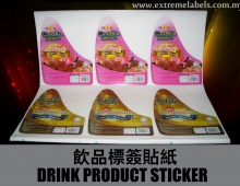 Drink Product Sticker