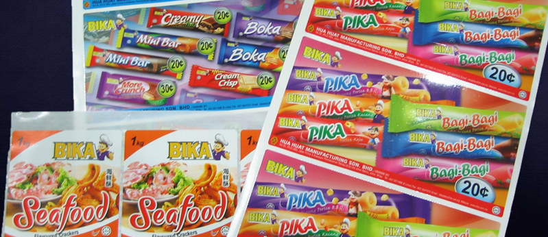 Bika Product Sticker